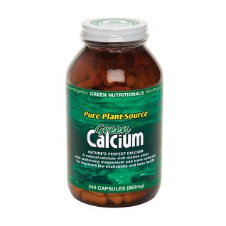 Green Calcium Powder Capsules 240