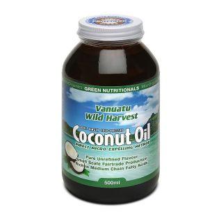 Vanuatu Wild Harvest Coconut Oil 500ml