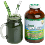 Healthy GreenSuperfoods smoothie