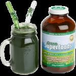 Healthy GreenSuperfoods smoothie