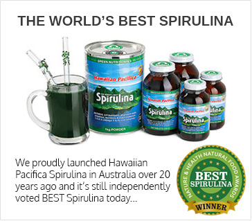 The World's Best Spirulina