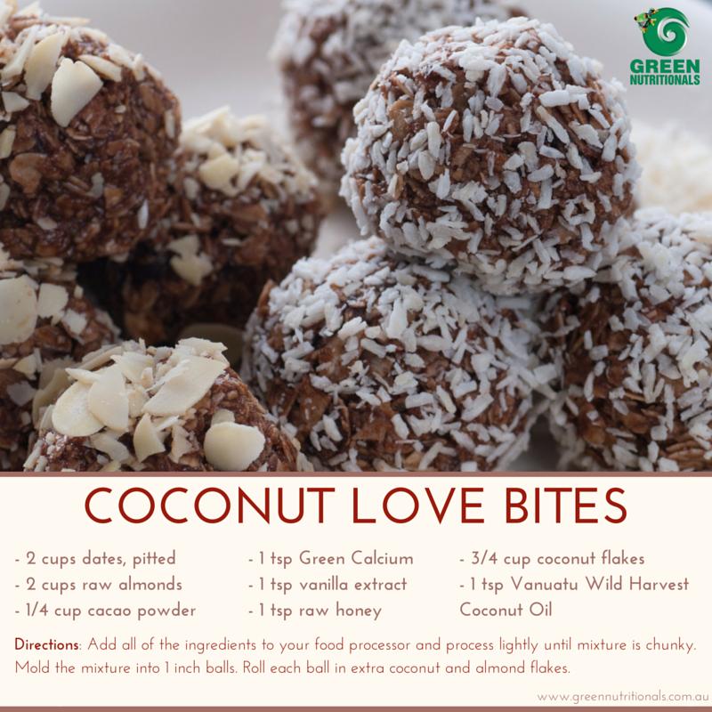 Coconut Love Bites