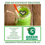 Kiss me Kiwi fruit smoothie recipe