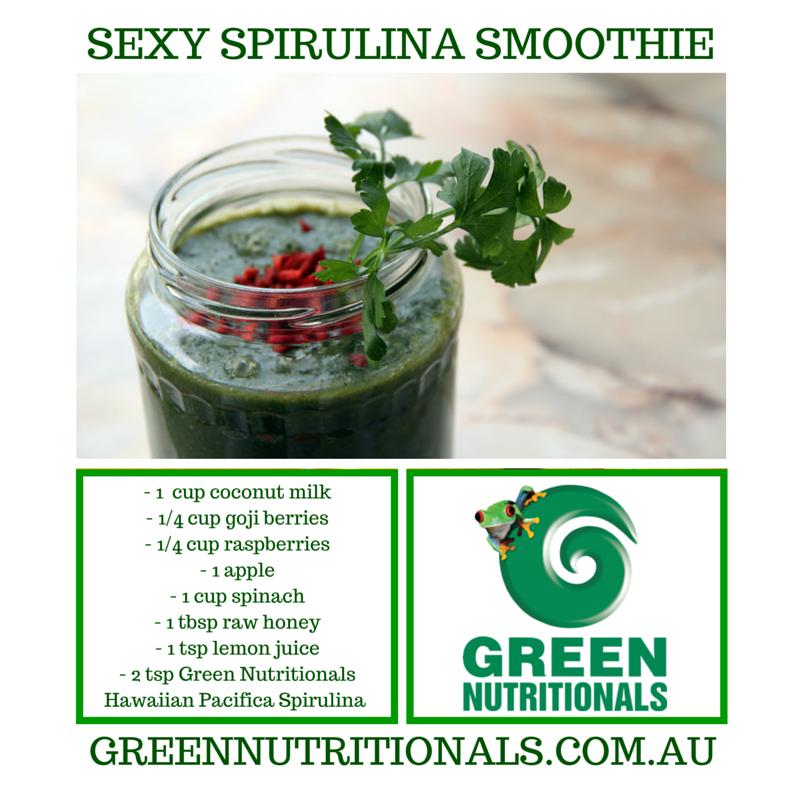 Sexy Sexy spirulina Smoothie recipe