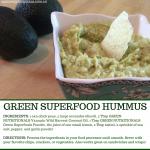 Green Superfoods Hummus