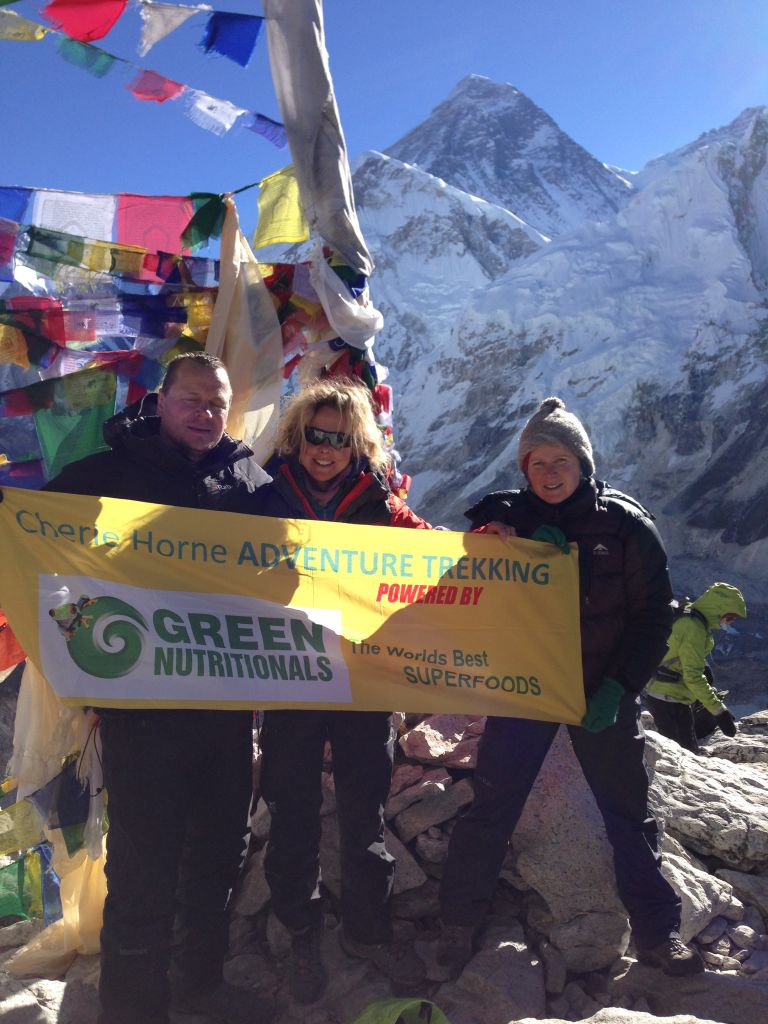 Cherie Horne The best view of Everest in the Himalayas!