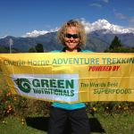 Cherie guiding on the Annapurna Circuit Trek 2016.