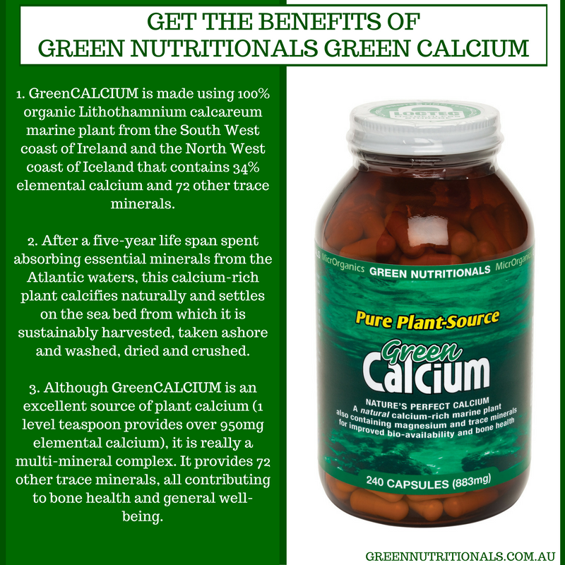 Benefits of Green Calcium