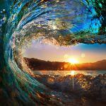 Clean Ocean wave