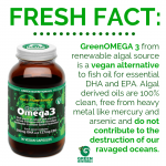 Green Omega3 info graphic