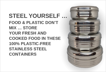 Steel Yourself - 100% Stainless Steel Container Sets